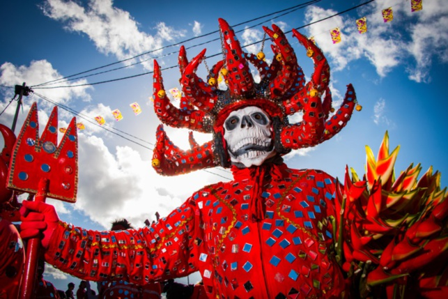 Carnaval Martinique 2016 - Photo de l'office du tourisme de Martinique