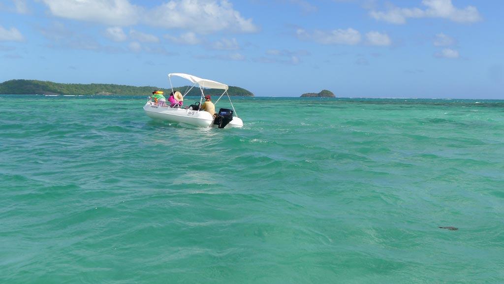 Location de bateaux Ti Canots en Martinique