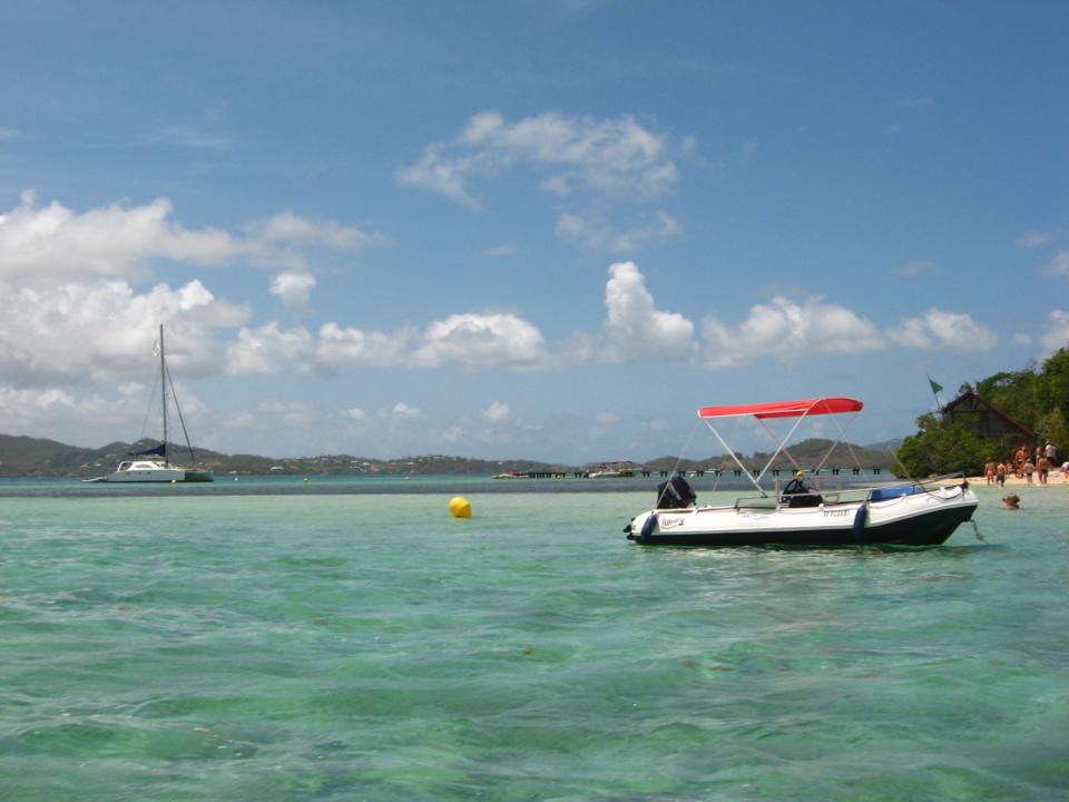 Excursion bateau Martinique : Ti Canots
