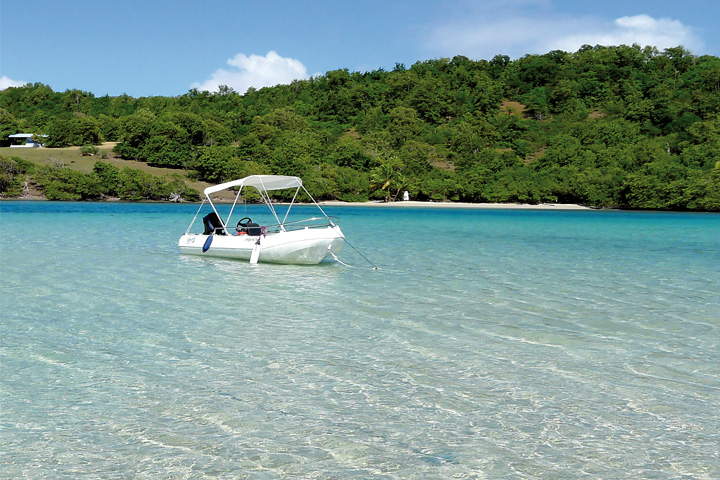 Excursion fonds blancs Martinique