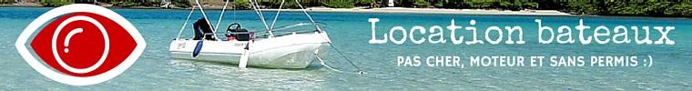 Tarif location bateau sans permis martinique