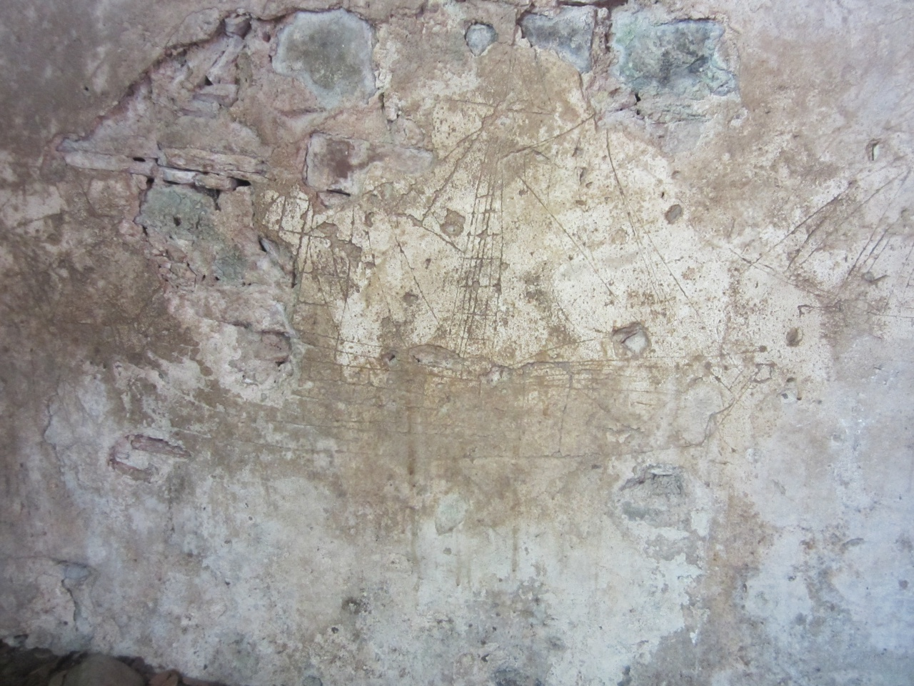 Graffiti de navire, îlet Chancel
