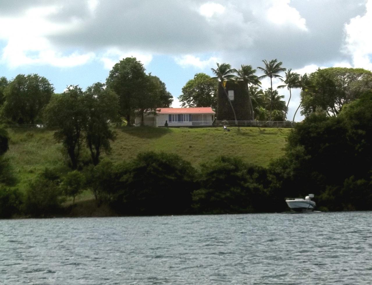 Ancien moulin d'habitation sucrière, Pointe Royale