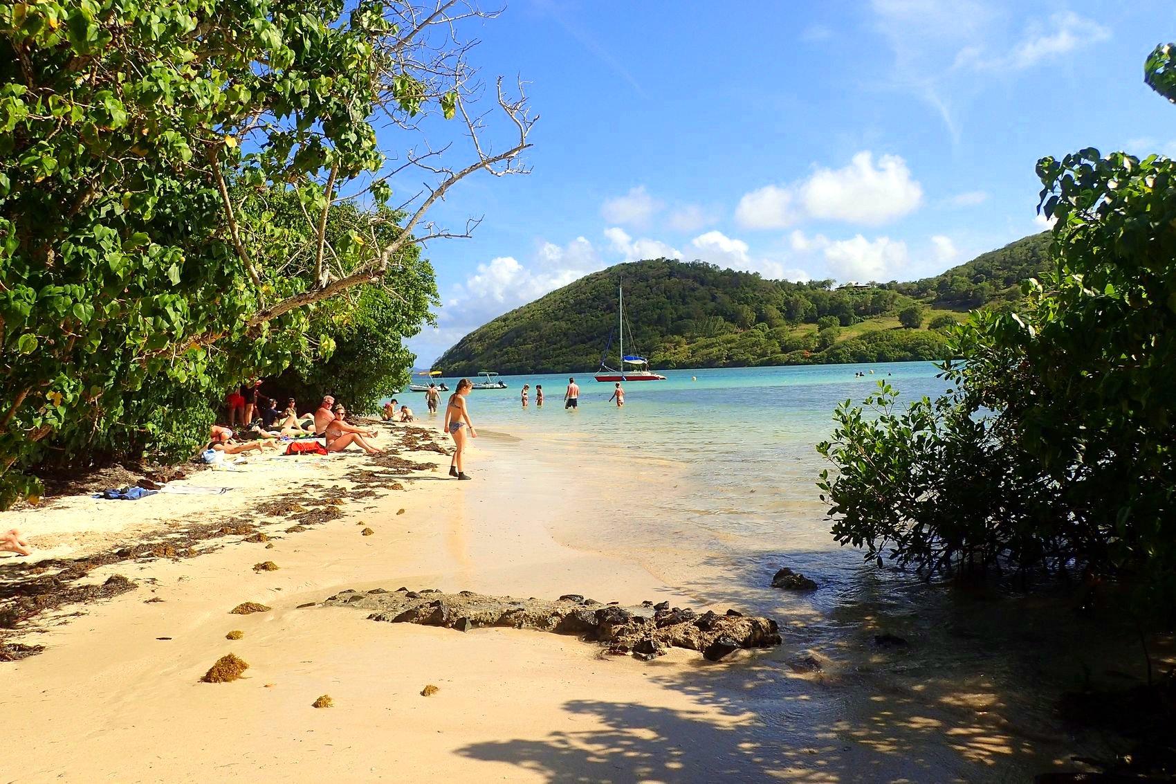Ilet Madame mars 2016 - un coin de paradis en Martinique accessible uniquement en bateau